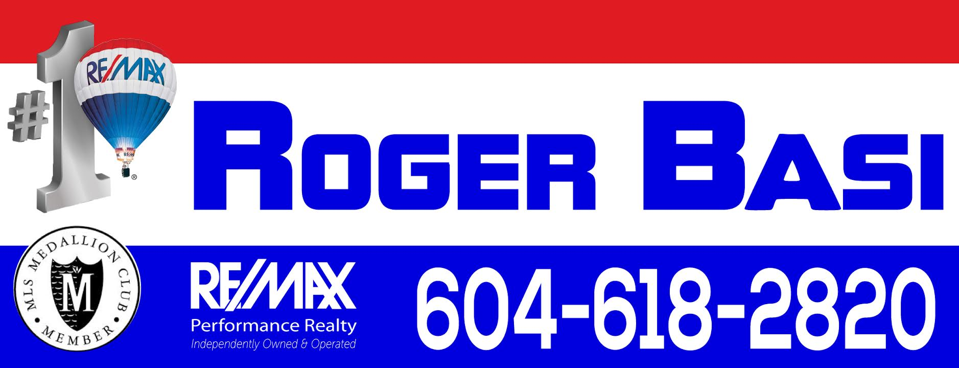 rogers realtor sign b