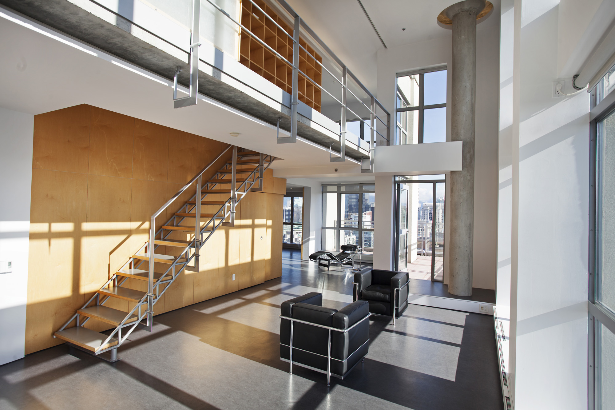 Yaletown Loft Peter Cardew Architects 1