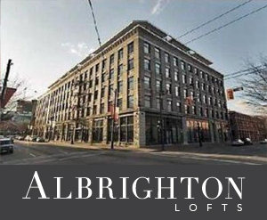 Albrighton Lofts logo koret lofts in Vancouver