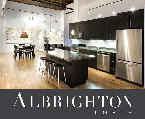 Albrighton lofts logo kitchen open