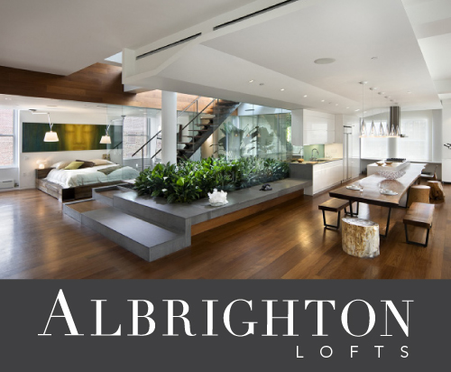 Albrighton lofts logo wide open