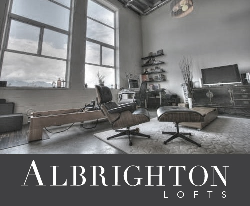 Albrighton Lofts industrial live work loft space in Mount Pleasant Vancouver