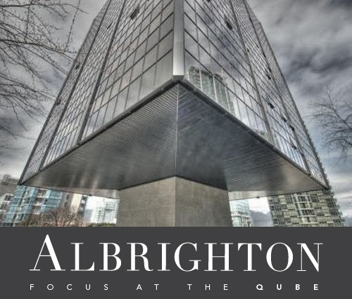 Albrighton Logo for the Qube