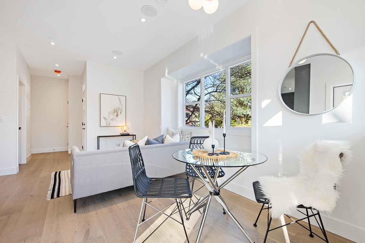 1315 salsbury modern duplex vancouver living area and window