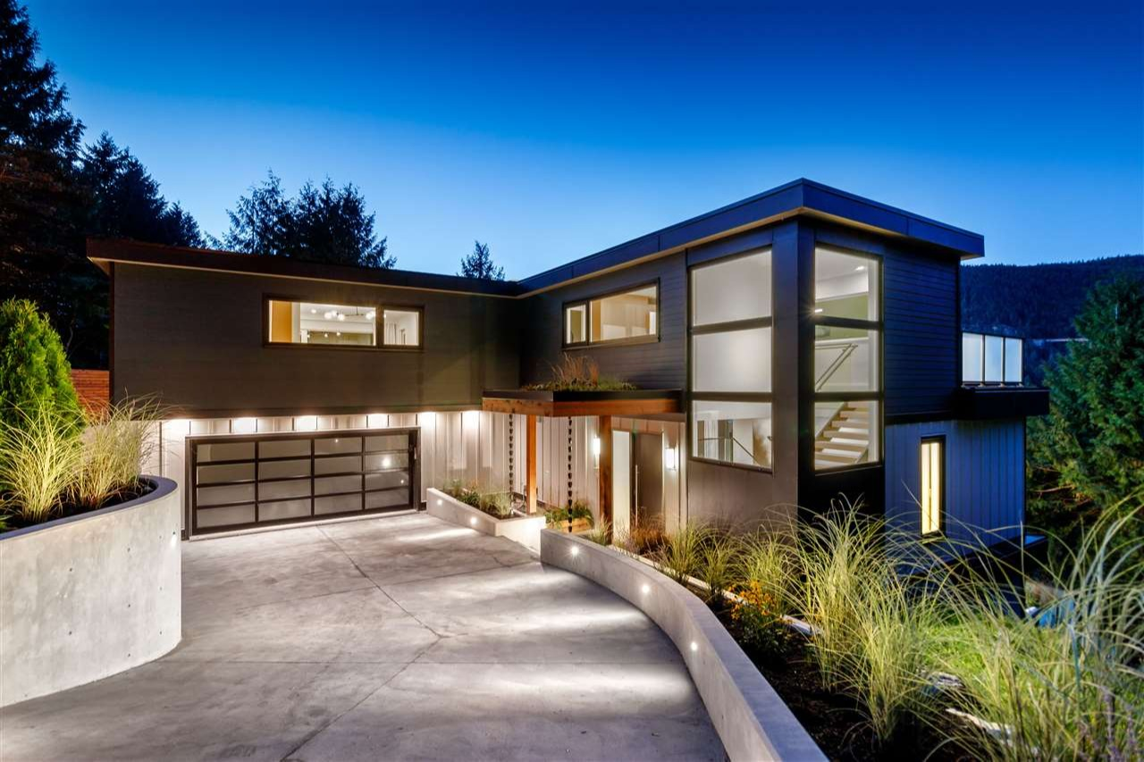 JUST SOLD - West Vancouver Architectural Modern Home - Listed at $3,500,000
