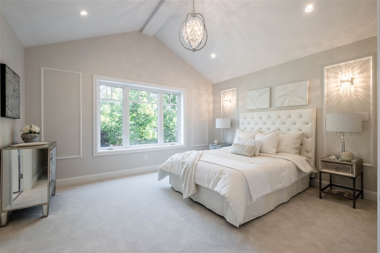 Large master bedroom  DOUGLAS PARK - Cambie Area Modern Craftsman a sold by Paul Albrighton