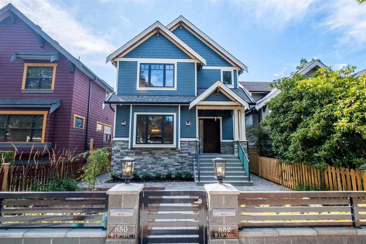 Exterior Modern Craftsman Home Vancouver
