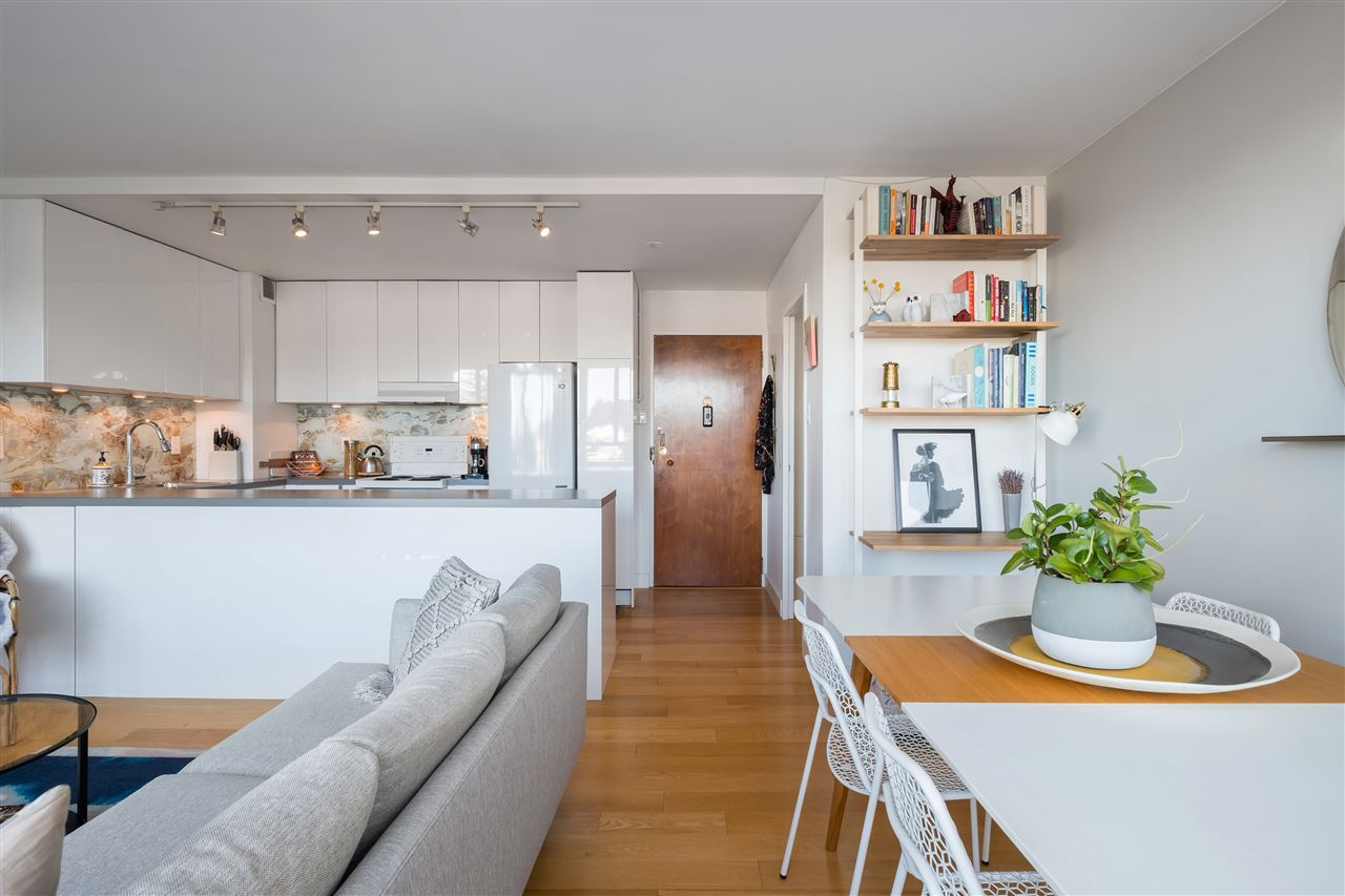 620 - 1445 Marpole Ave - Classic Modern Building Vancouver kitchen area