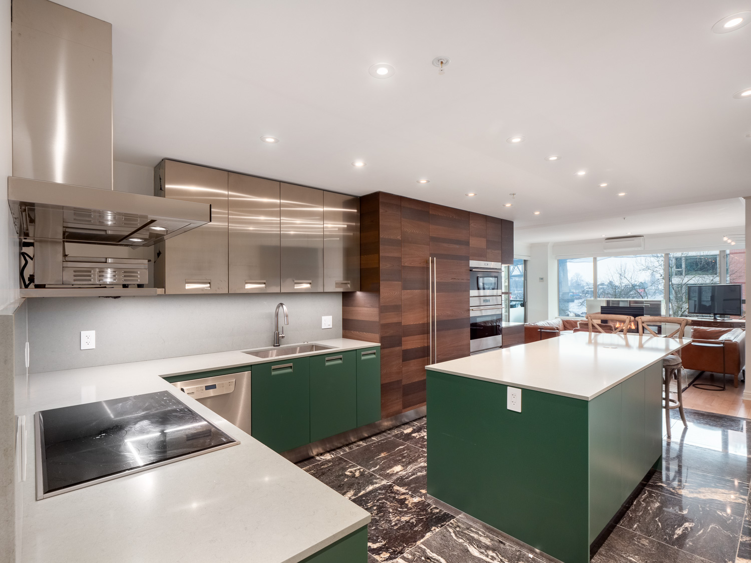 Arclinea Kitchen - Modern Vancouver Condo  1600 hornby street web 3 a