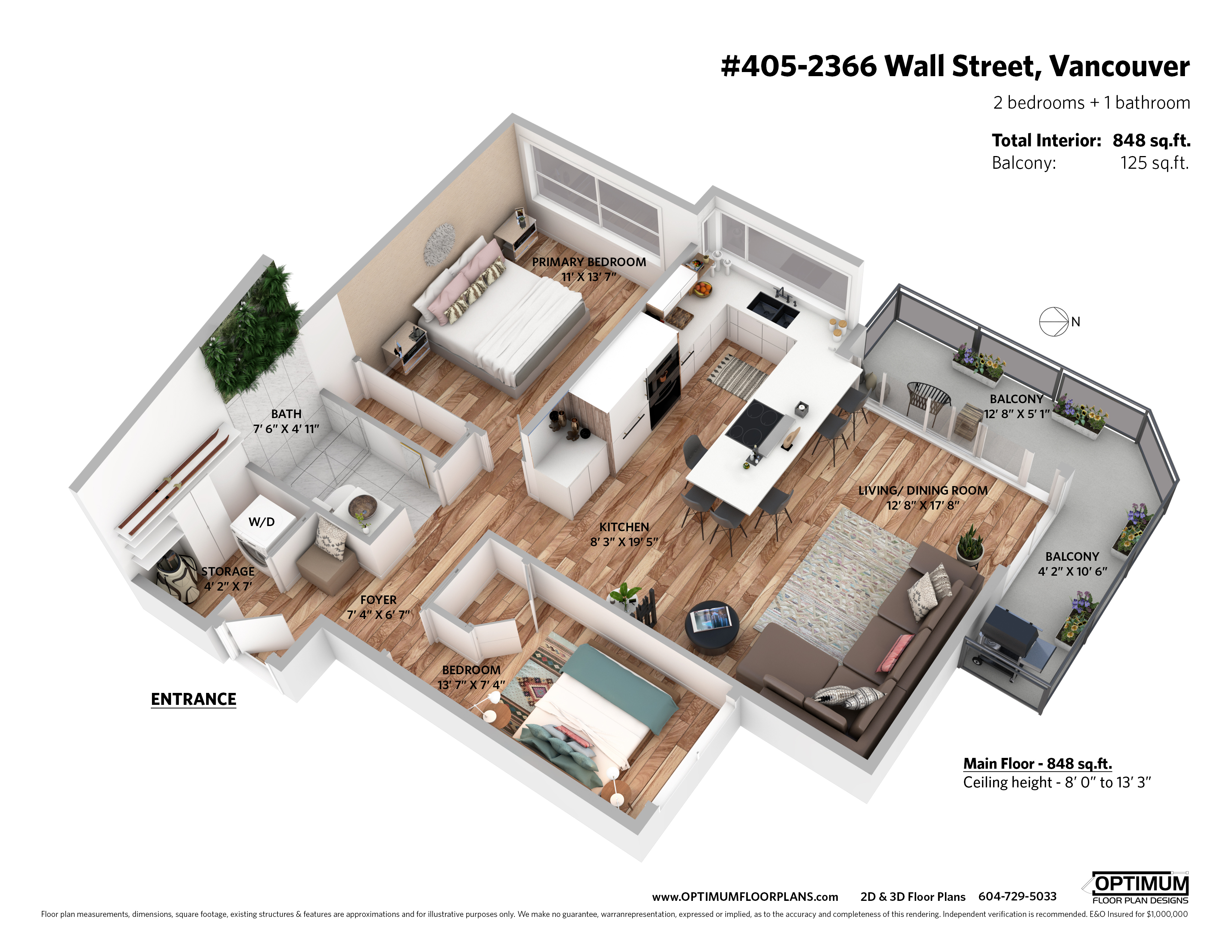 405 2366 wall street 3d