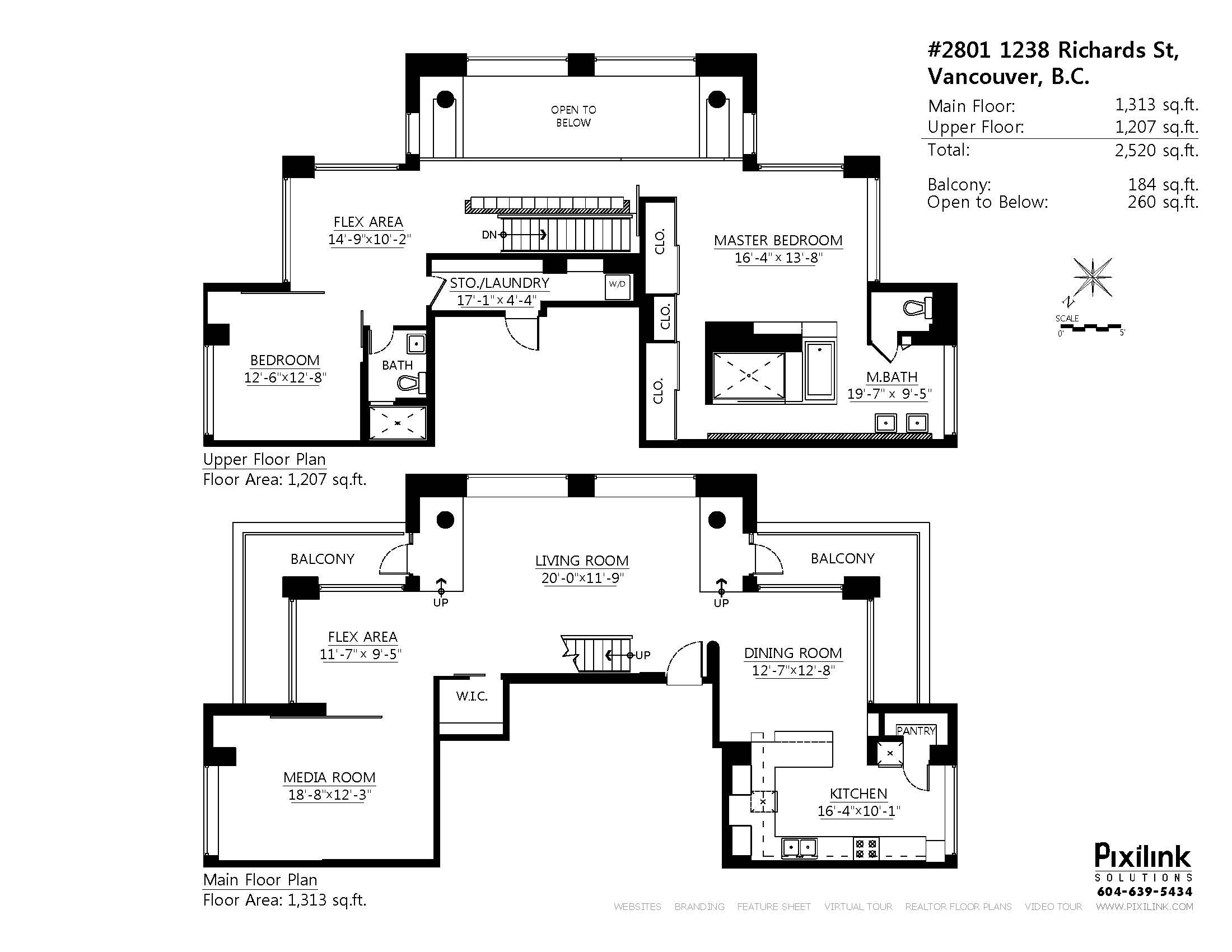 Penthouse Loft Floor Plan