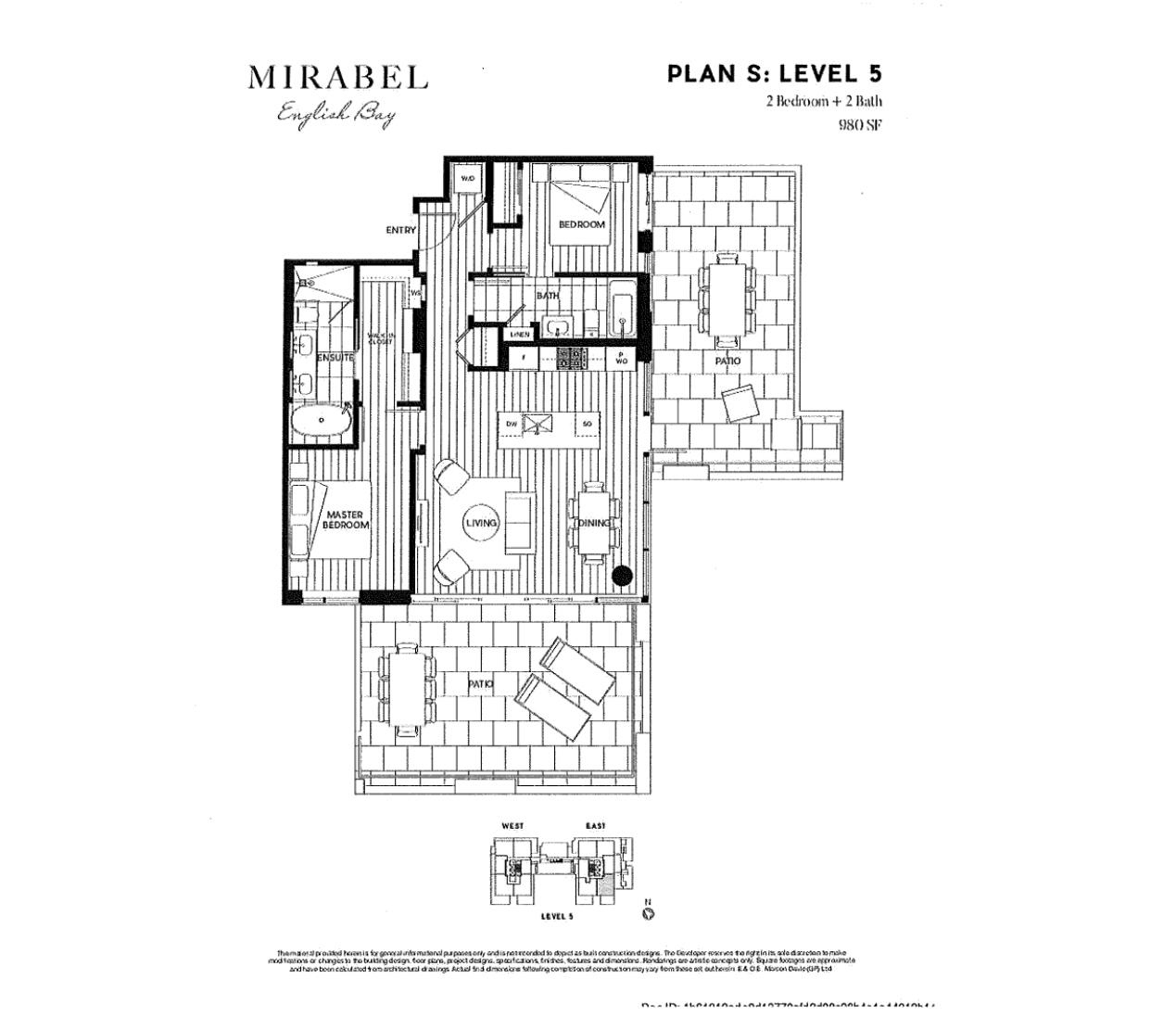 504e plan 2 1385 Davie Street - Mirabel