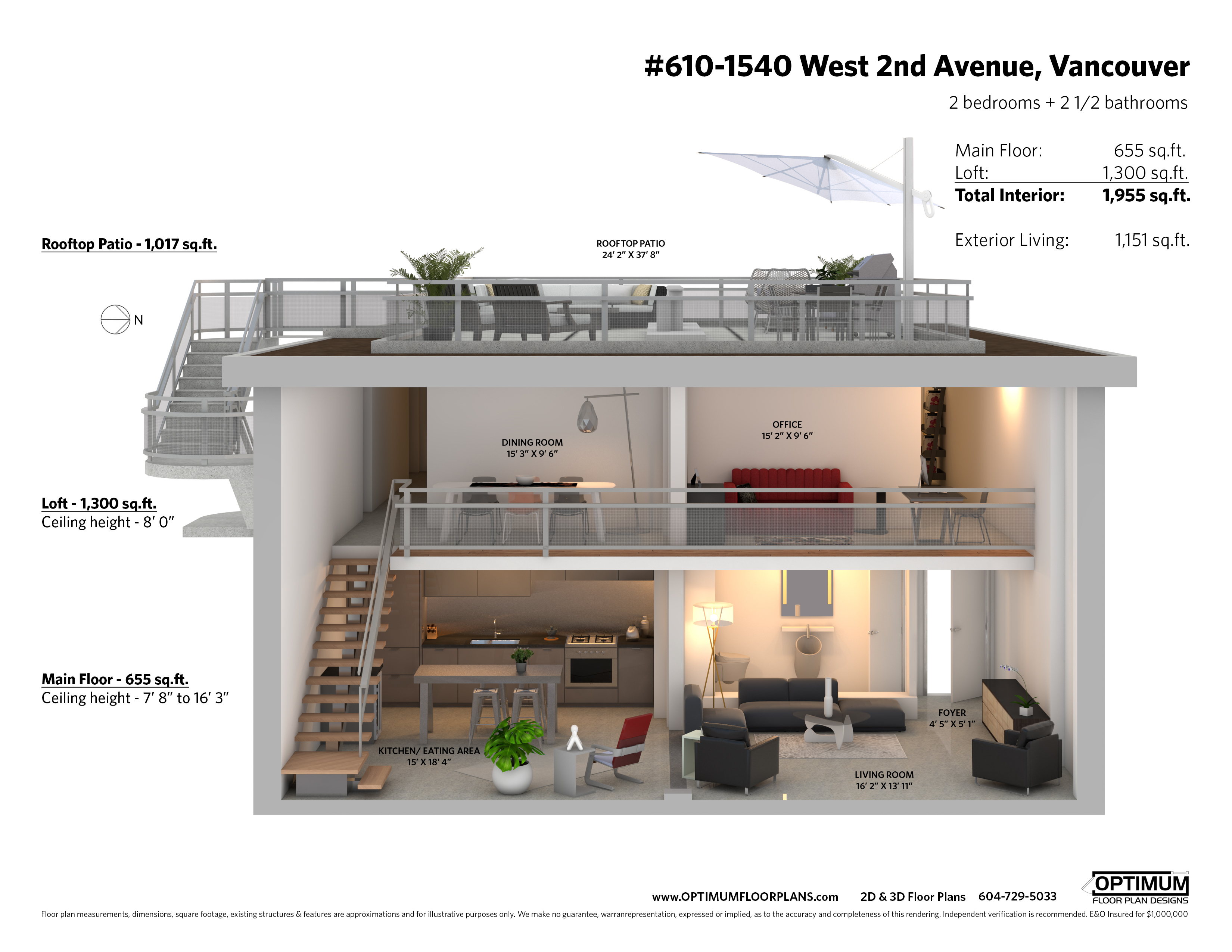610 1540 west 2nd avenue sectional v2 1 a