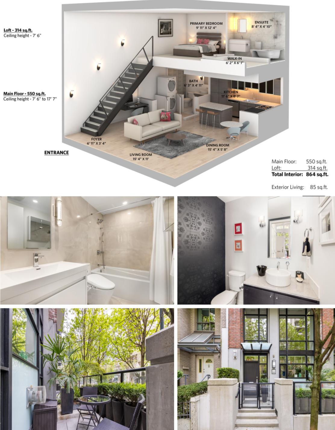 988 richards street loft and condos c