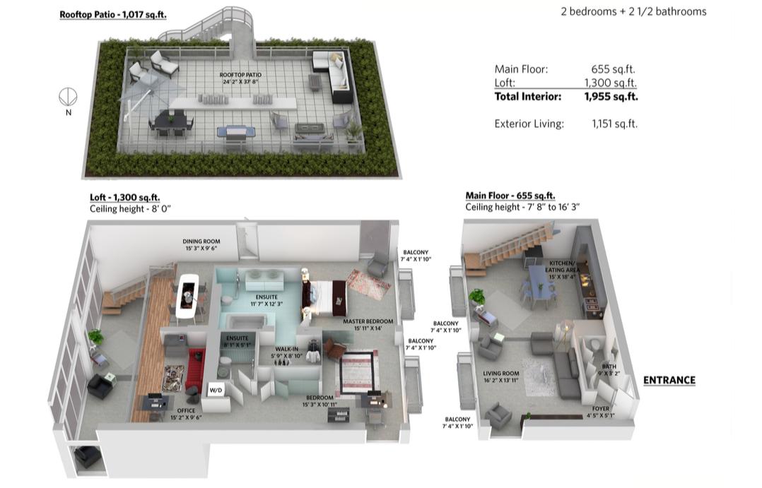 arthur erickson floor plan