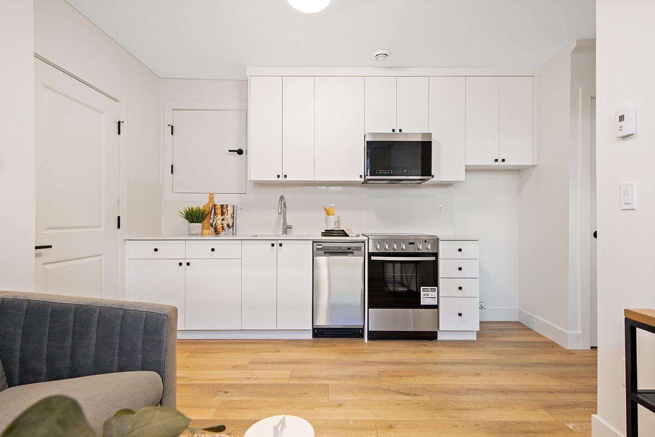 basement suite 1315 salsbury modern duplex vancouver