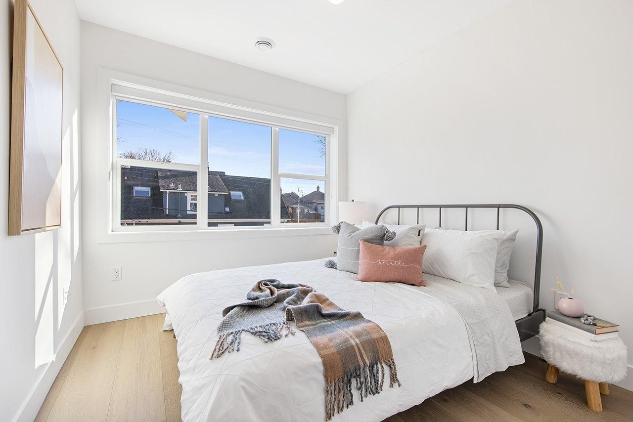 bedroom 1315 salsbury modern duplex vancouver