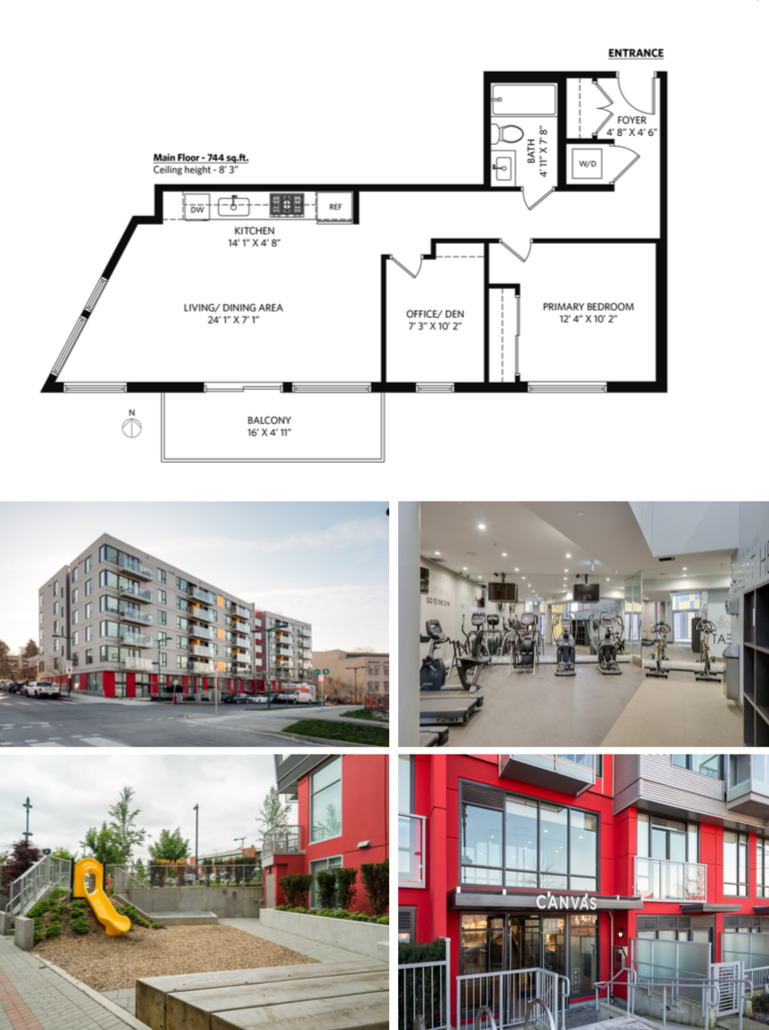 canvas and floor plan mount pleasant 605   384 e 1st ave modern condo