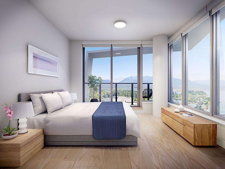 cardero residences bedroom