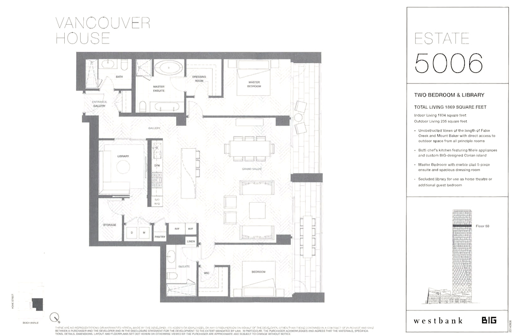 estates preview floor plan