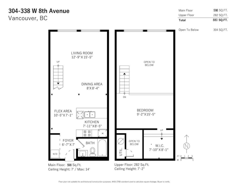 floor plan vancouver loft