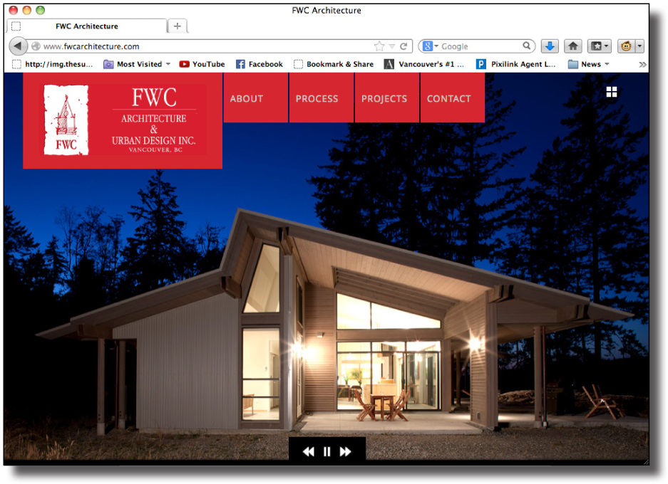 FWC Architecture website