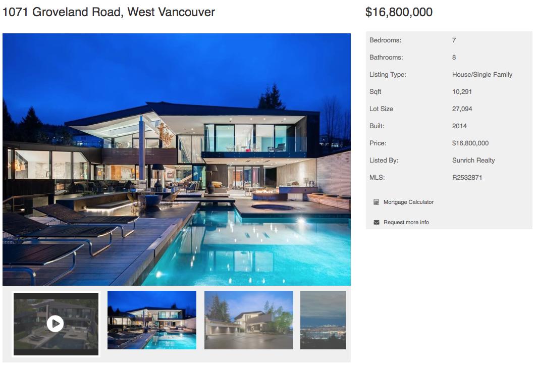 groveland modern home for sale westvan