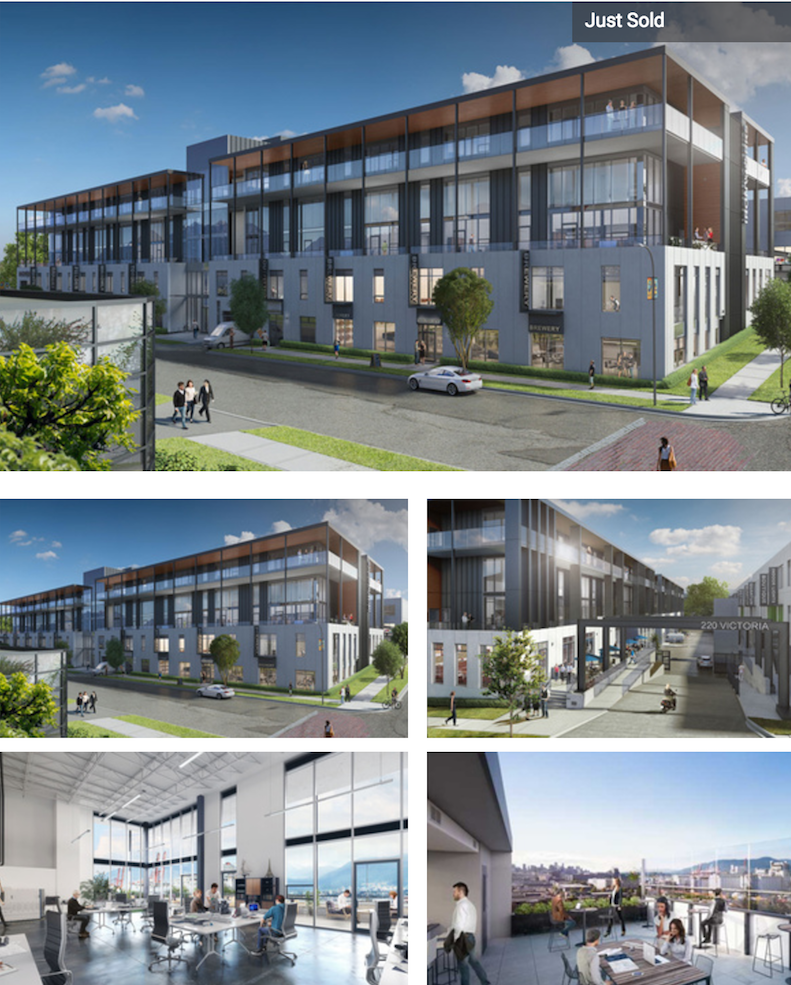 ironworks pre sale strata office vancouver grid c