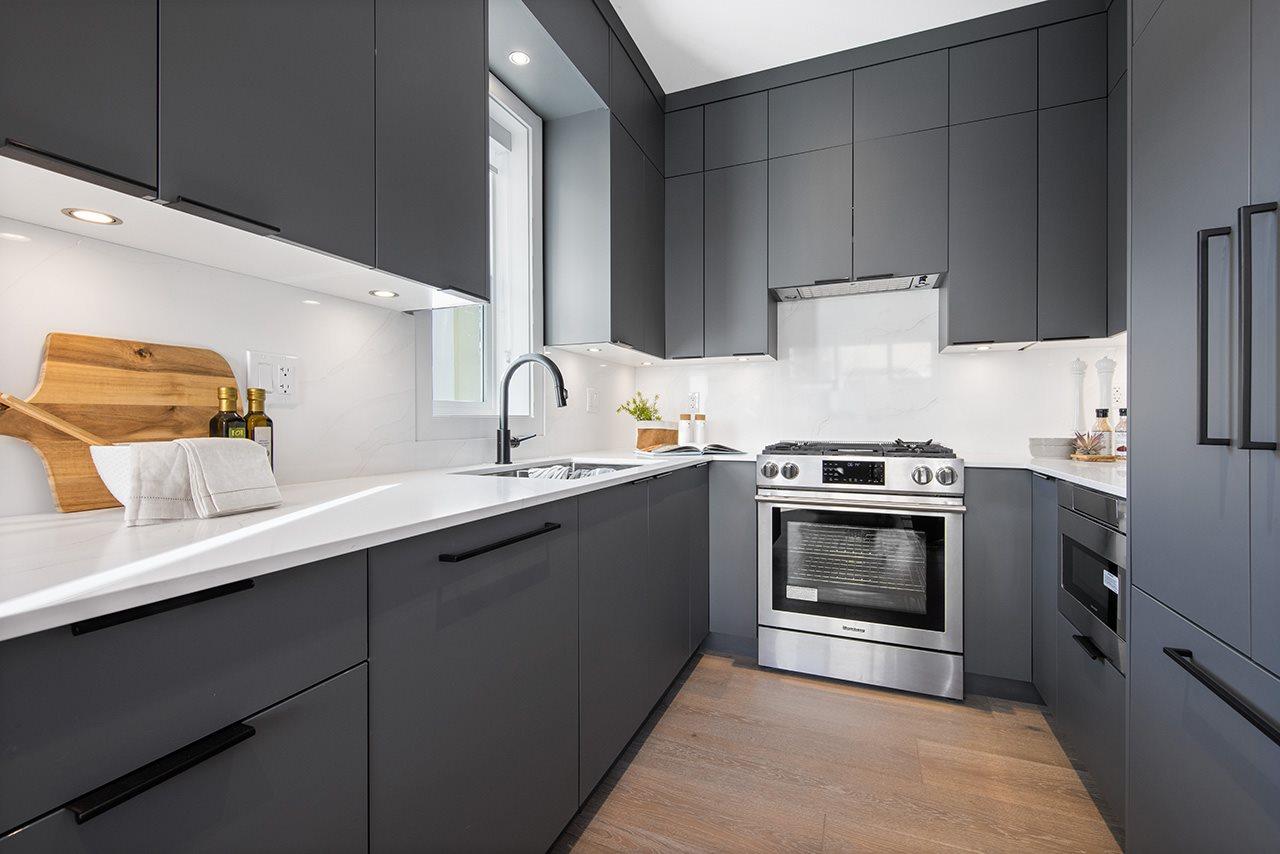 kitchen 1315 salsbury modern duplex vancouver