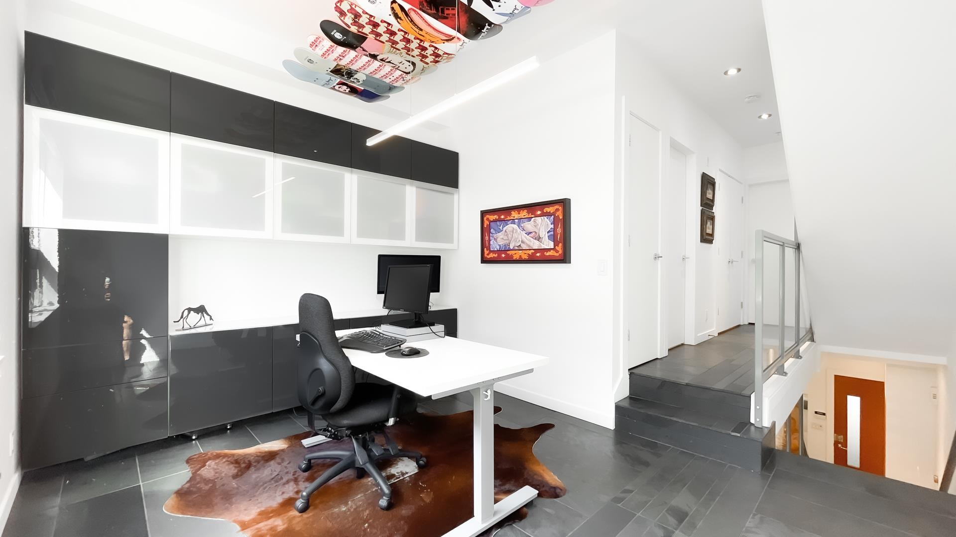 modern home office vancouver
