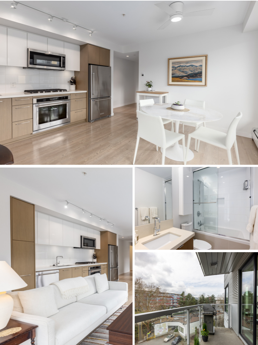 modern living area mount pleasant 605   384 e 1st ave modern condo