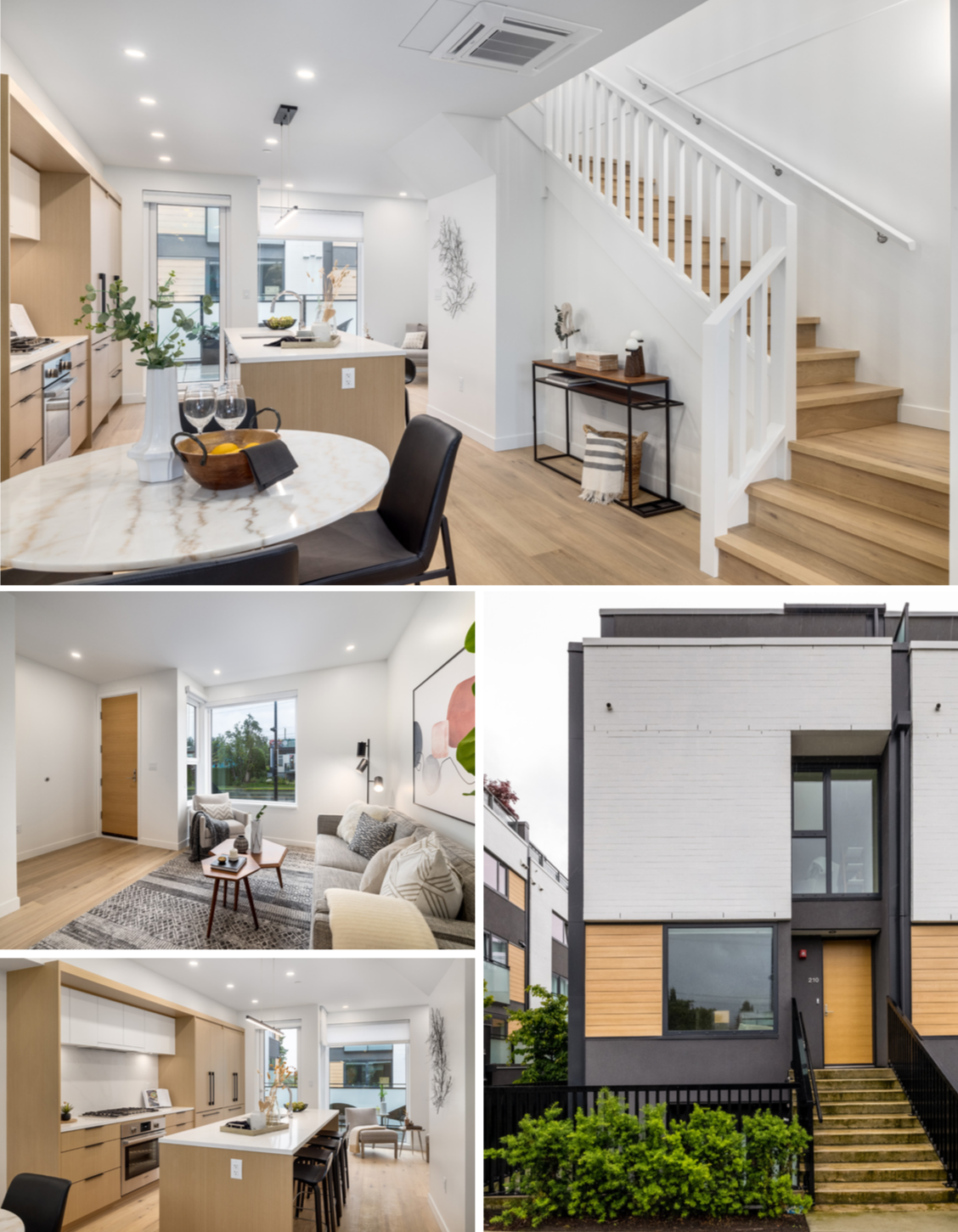 modern townhouse in north vancouver for sale