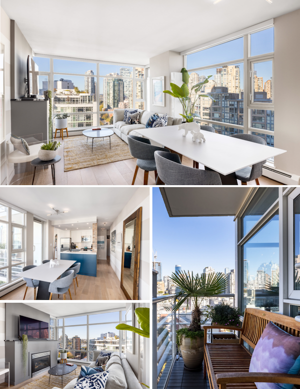 modern yaletown condo for sale