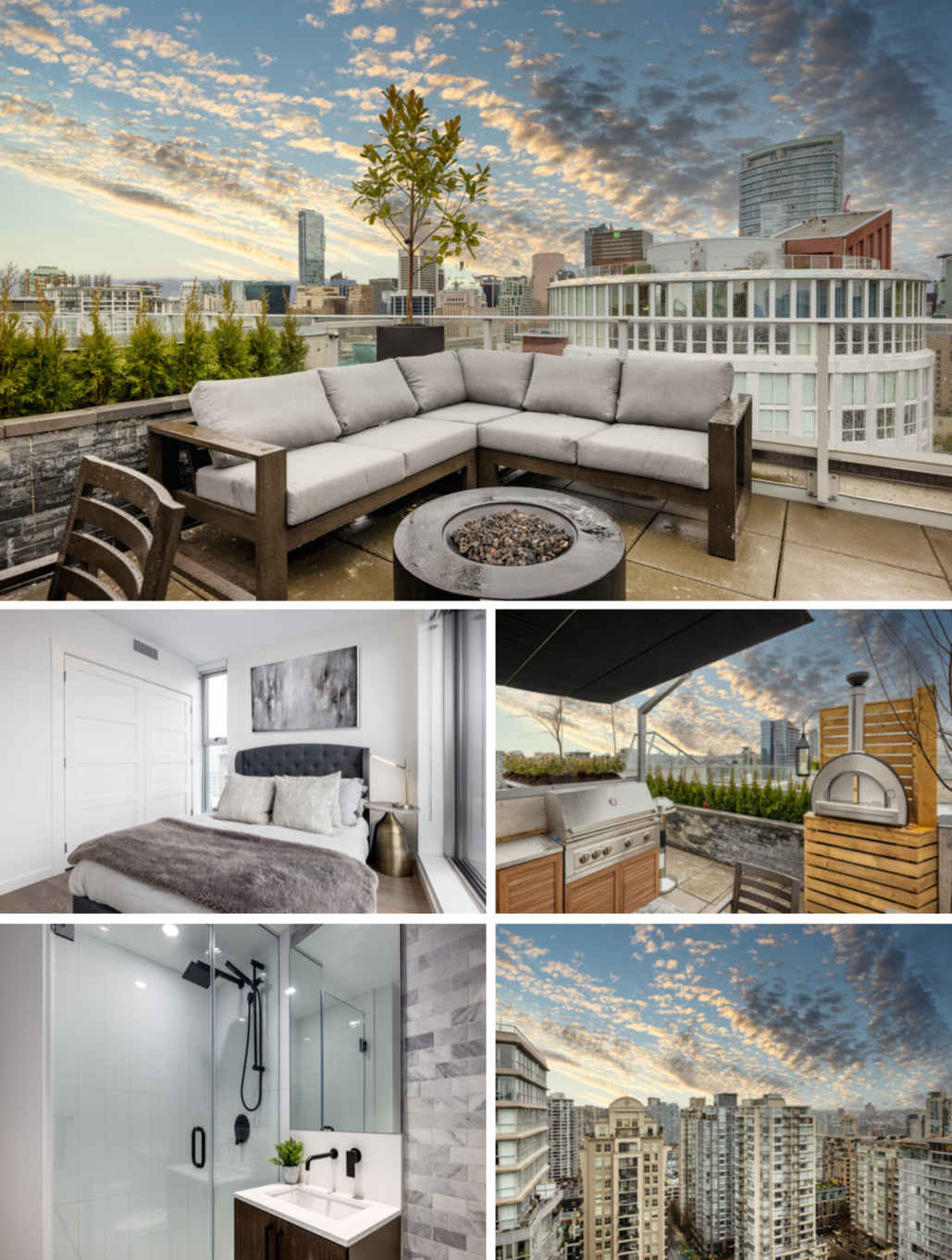 rooftop deck downtown penthouse listing