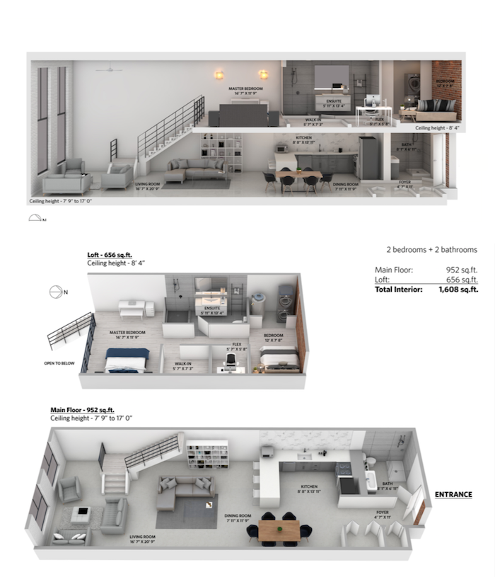 the workshop loft 2 bedrooms