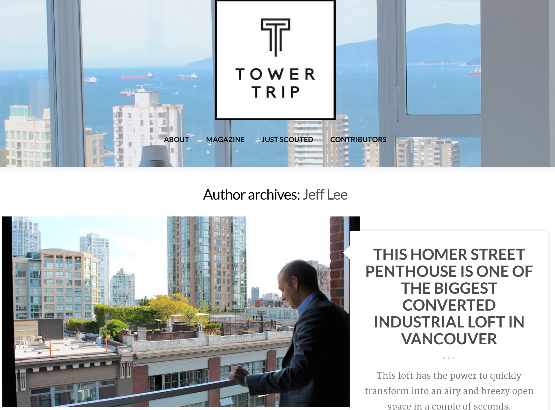 tower trip magazine and albrighton real estate