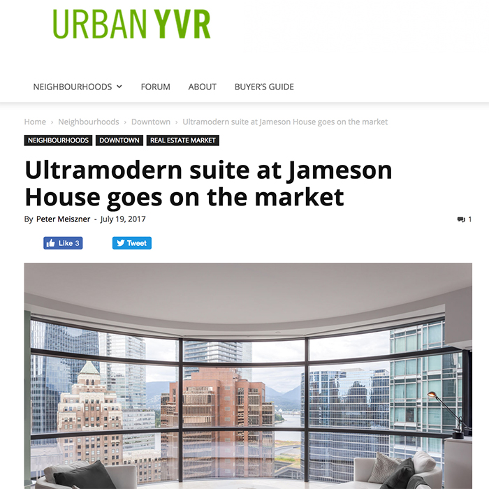 urban yvr jameson house