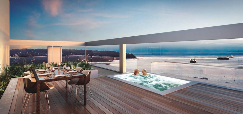 vancouver house penthouse rootop decks