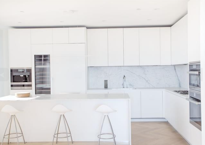 white boffi kitchen vancouver house penthouse 1480 howe street
