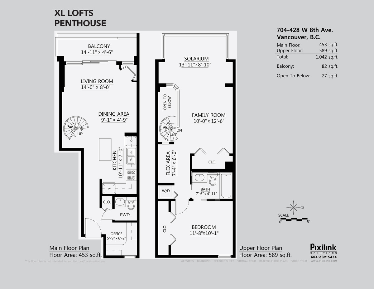 xl lofts floor plan a