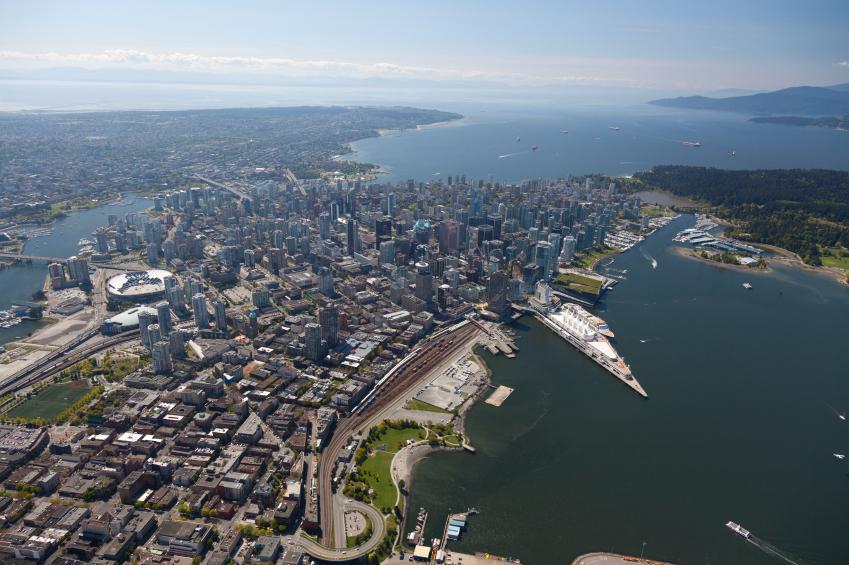 Gastown Aerial View