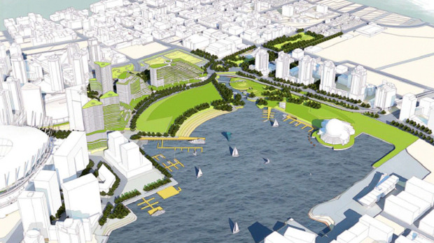 Vancouver False Creek Flats urban proposal