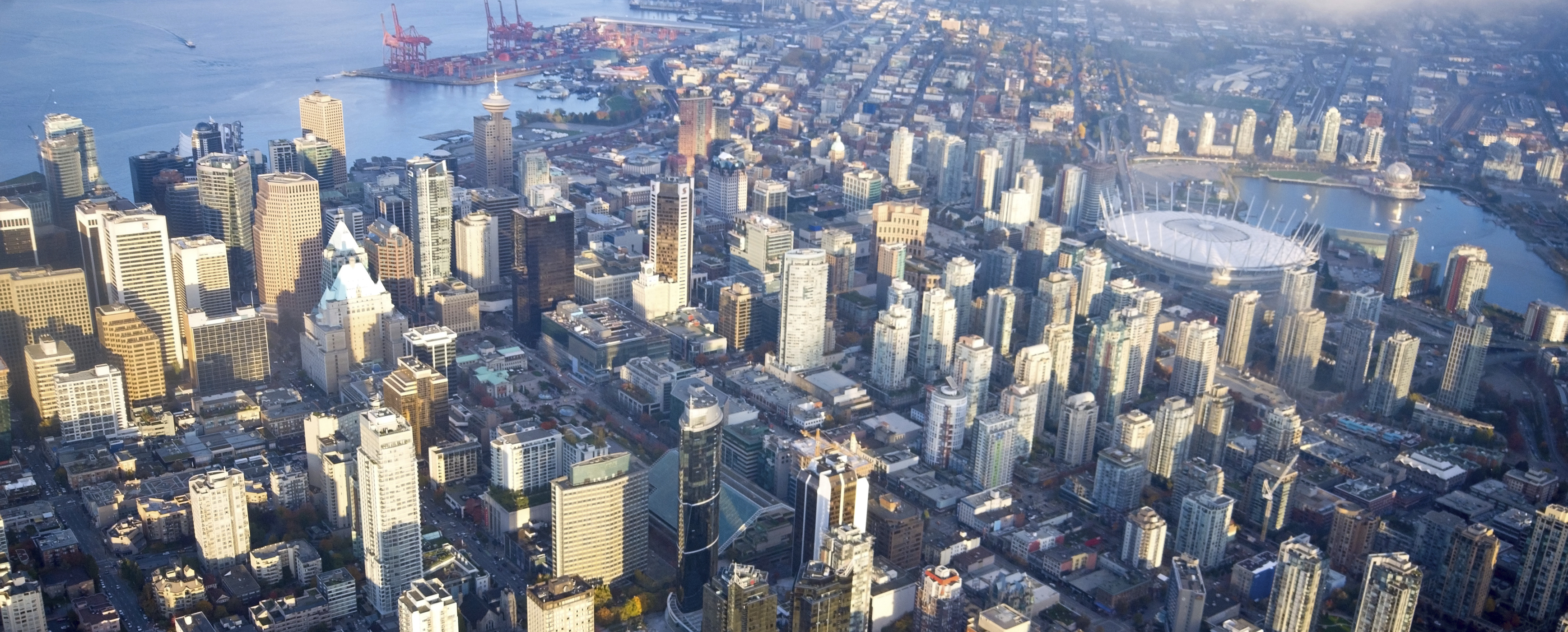 1   downtown vancouver aerial i