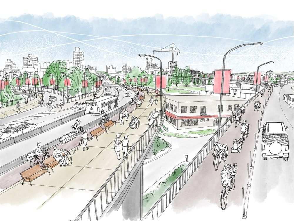 granville bridge redesign vancouver 2020
