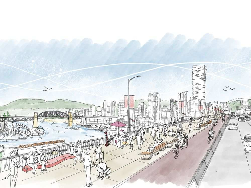 granville bridge redesign vancouver 2020 2