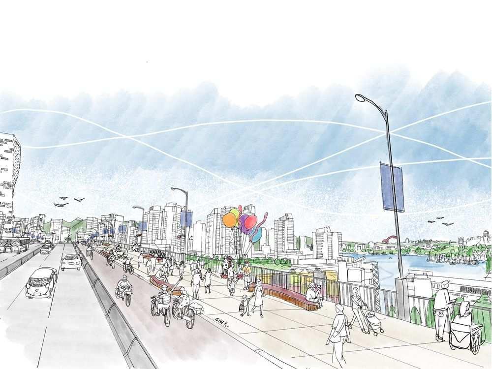 granville bridge redesign vancouver 2020 3