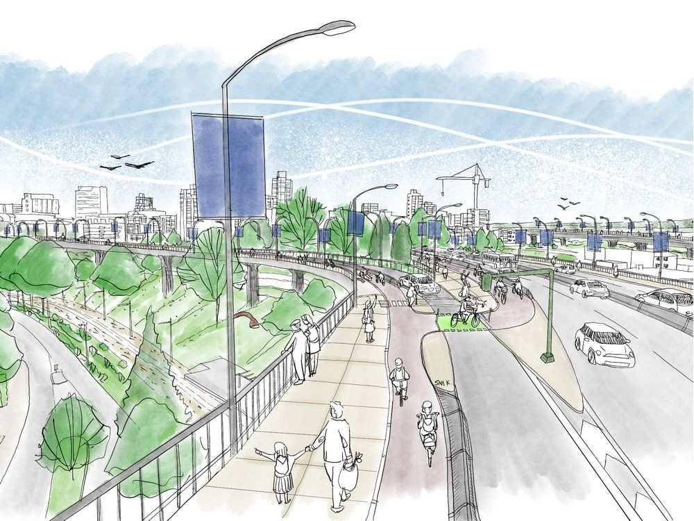 granville bridge redesign vancouver 2020 4