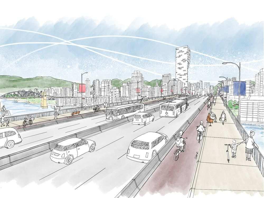 granville bridge redesign vancouver 2020 6