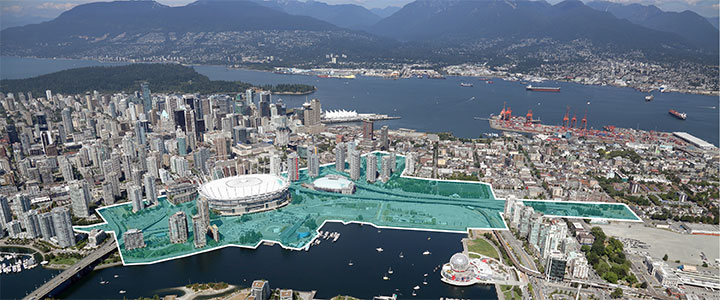 north east false creek aera plan