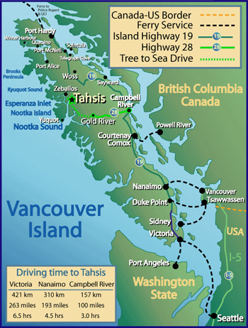 Largest City Found In Vancouver Island
